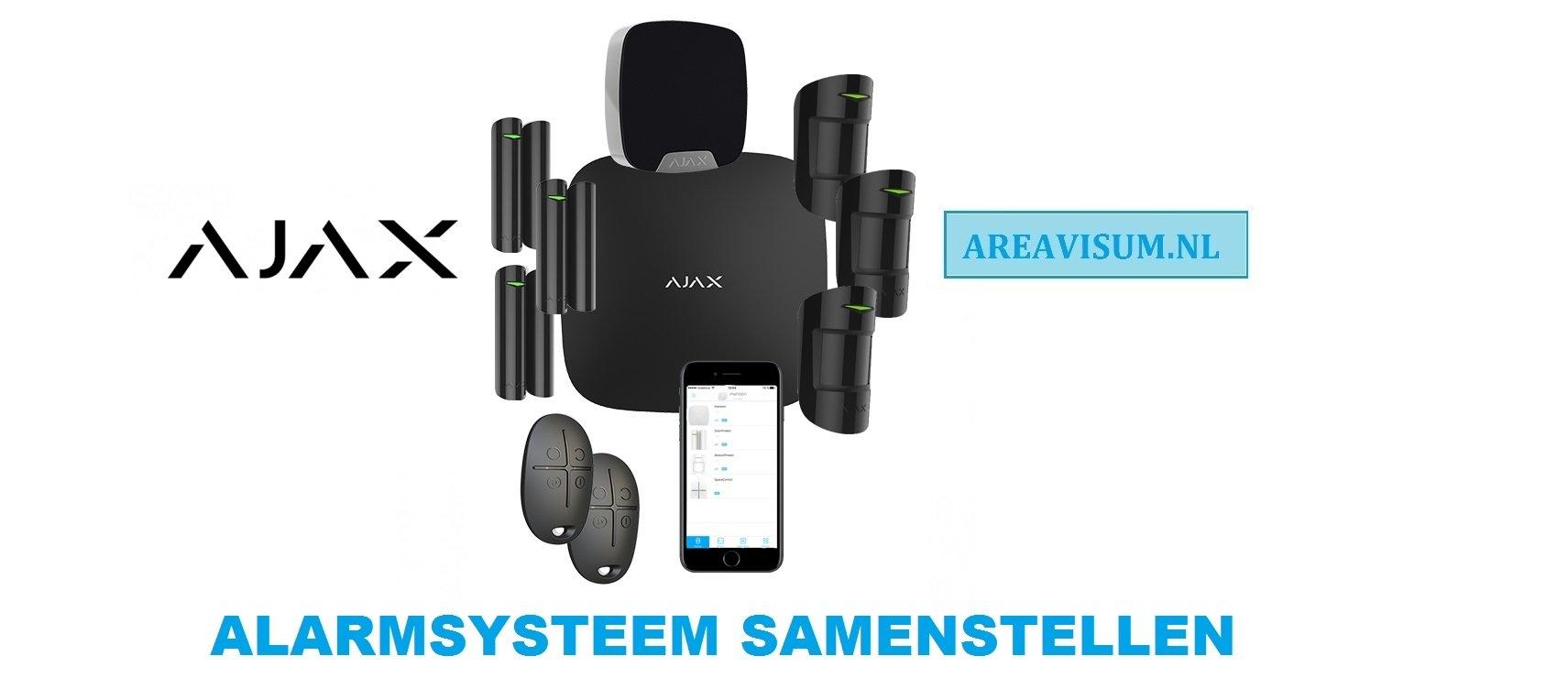AJAX-Alarmsystemen-Sets