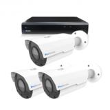 Beveiligingscamera set 3 x Bullet camera 5MP 2K HD – Draadloos _