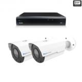 Beveiligingscamera set 2 x Bullet camera 8MP 4K UHD – Draadloos _