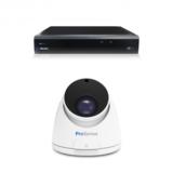 Beveiligingscamera set met 1 Dome camera  5MP 2K HD  Draadloos _
