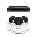 Beveiligingscamera set met Dome camera  5MP 2K HD  Draadloos _