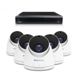 Beveiligingscamera set met 5 Dome camera  5MP 2K HD  Draadloos _