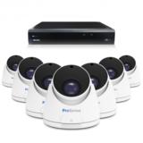 Beveiligingscamera set met 7 Dome camera  5MP 2K HD  Draadloos _