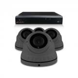 Bewakingscamera set met 4 Dome camera – 4MP 2K HD – Draadloos _