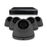 Bewakingscamera set met 5 Dome camera – 4MP 2K HD – Draadloos _