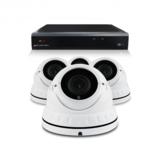 Bewakingscamera set met 4 Dome camera – 5MP 2K HD – Draadloos _
