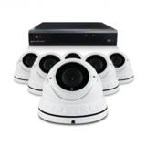 Bewakingscamera set met 6 Dome camera – 4MP 2K HD – Draadloos _