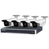 set met 4 X 6MP Bullet-camera's , 8 kanaals PoE NVR 2TB (recorder)_