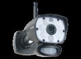 (CZ60RIPS) Color Night Vision Beveiligingscameraset met 9 inch scherm en applicatie _