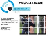 Draadloze Bullet WiFi camerabewaking set 4 x 5MP 2K HD Premium-serie_