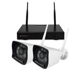 Nivian systeem met 2 draadloos 2MP camera's  _