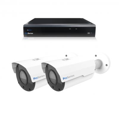 Beveiligingscamera set 2 x Bullet camera 5MP 2K HD – Draadloos