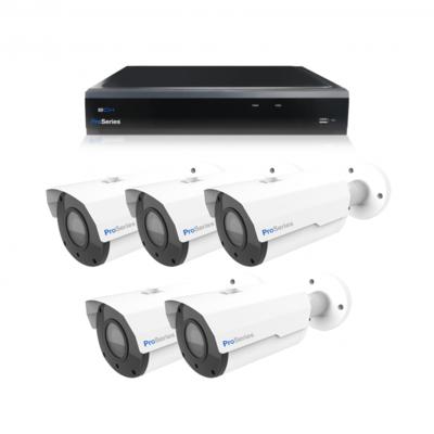 Beveiligingscamera set 5 x Bullet camera 5MP 2K HD – Draadloos