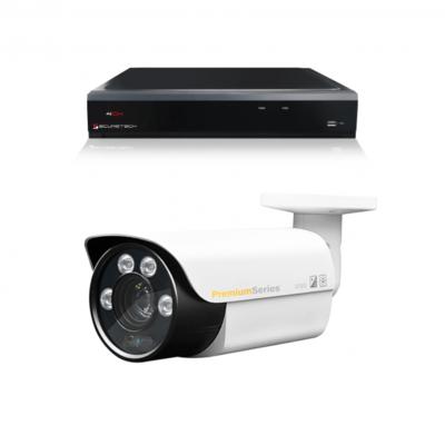 Camerabewaking set 1 x Bullet camera 4MP 2K HD Analoog