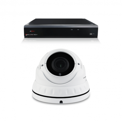 Bewakingscamera set met 1 Dome camera – 4MP 2K HD – Draadloos