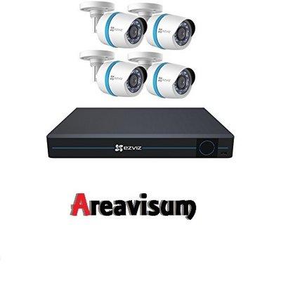 IP set compleet met 8 kanaals NVR en 4 bullet camera's  ( CS-BN8-EU )