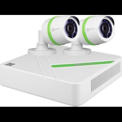 Compleet systeem met DVR en 2 bullet camera's ( CS-BT4-EU )