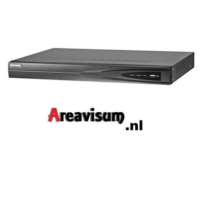 De Hikvision NVR 6 TB  DS-7604NI-K1 NVR zonder POE