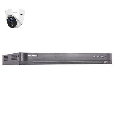 Hikvision DS-7204HUHI-K2 4 kanaals met 1 x 2MP camera