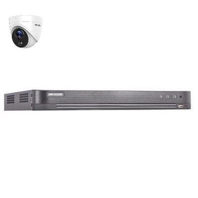 Hikvision DS-7204HUHI-K2 4 kanaals met 1 x 2MP camera