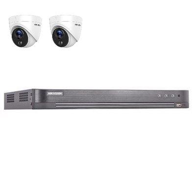 Hikvision DS-7204HUHI-K2 4 kanaals met 2 x 2MP camera