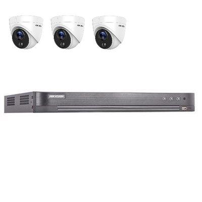 Hikvision DS-7204HUHI-K2 4 kanaals met 3 x 2MP camera