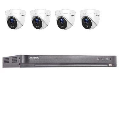 Hikvision DS-7204HUHI-K2 4 kanaals met 4 x 2MP camera