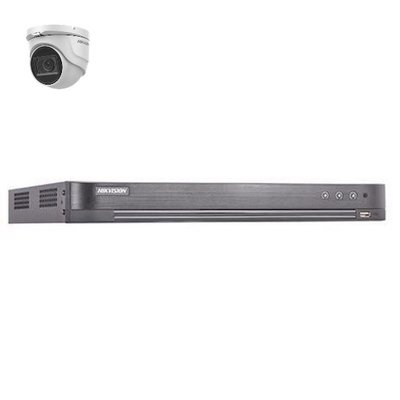 Hikvision DS-7204HUHI-K2 4 kanaals met 1 x 5MP camera