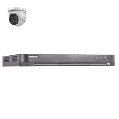 Hikvision DS-7204HUHI-K2 4 kanaals met 1 x 5MP camera