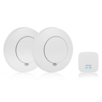 Smartwares 10.041.05 Rookmelder 2-pack met afstandsbediening RM175RF 2 + REMOTE
