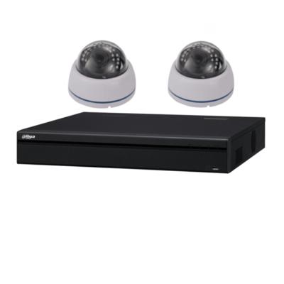 Dahua camera set met 2 x Binnen Sony Dome camera's – 2MP 1080P