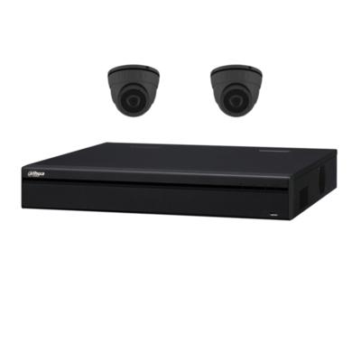 Dahua camera set met 2 x Mini-Dome camera's – 2MP 1080P