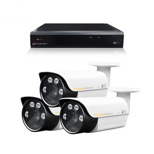 Camerabewaking set 3 x Bullet camera 4MP 2K HD Analoog