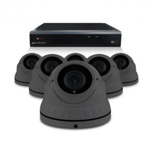 Bewakingscamera set met 6 Dome camera – 4MP 2K HD – Draadloos