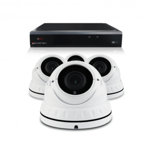 Bewakingscamera set met 4 Dome camera – 5MP 2K HD – Draadloos