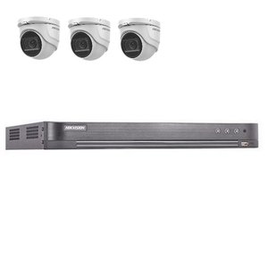 Hikvision DS-7204HUHI-K2 4 kanaals met 3 x 5MP camera