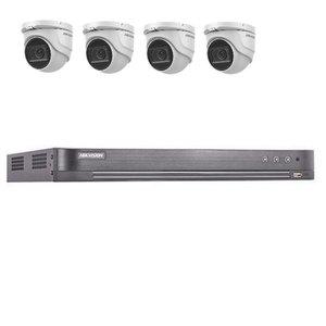 Hikvision DS-7204HUHI-K2 4 kanaals met 4 x 5MP camera