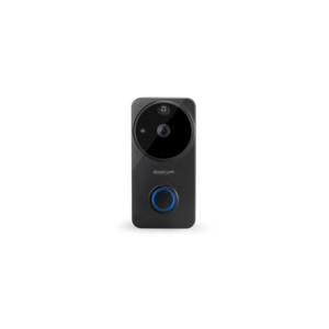 Doorcom smart deurbel ( zwart ) , live app, gratis SD-kaart 16GB