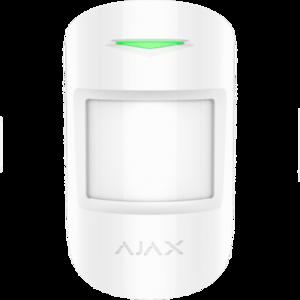 Ajax draadloos MotionProtect infrarood detector wit