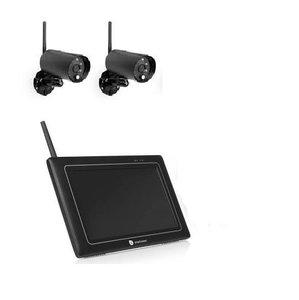 Smartwares  Draadloze beveiligingscamera set CS97DVR met 2 camera's