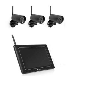 Smartwares  Draadloze beveiligingscamera set CS97DVR met 3 camera's
