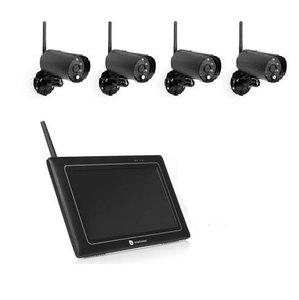 Smartwares  Draadloze beveiligingscamera set CS97DVR met 4 camera's