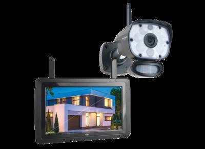 (CZ60RIPS) Color Night Vision Beveiligingscameraset met 9 inch scherm en applicatie
