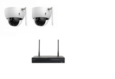 X-Security Wifi beveiligingscamera - systeem met 2 camera